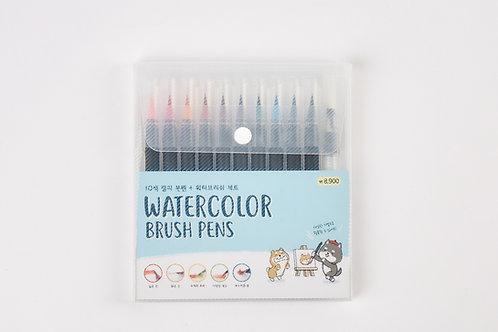 Brush color pens