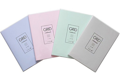 PVC cover grid note-mint
