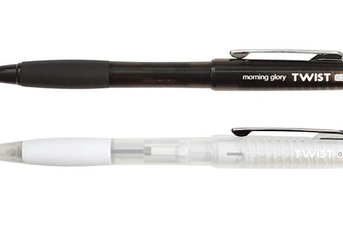 Twist lead pencil (0.5mm)- black