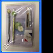 Stationery gift set-apple