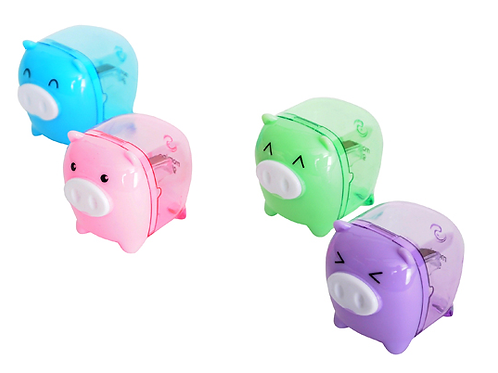 Piggy sharpener -green