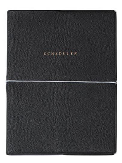 Scheduler book-black