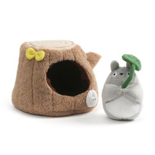 Totoro tree trunk play set