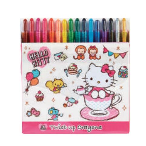 Twist up crayon- 16 color