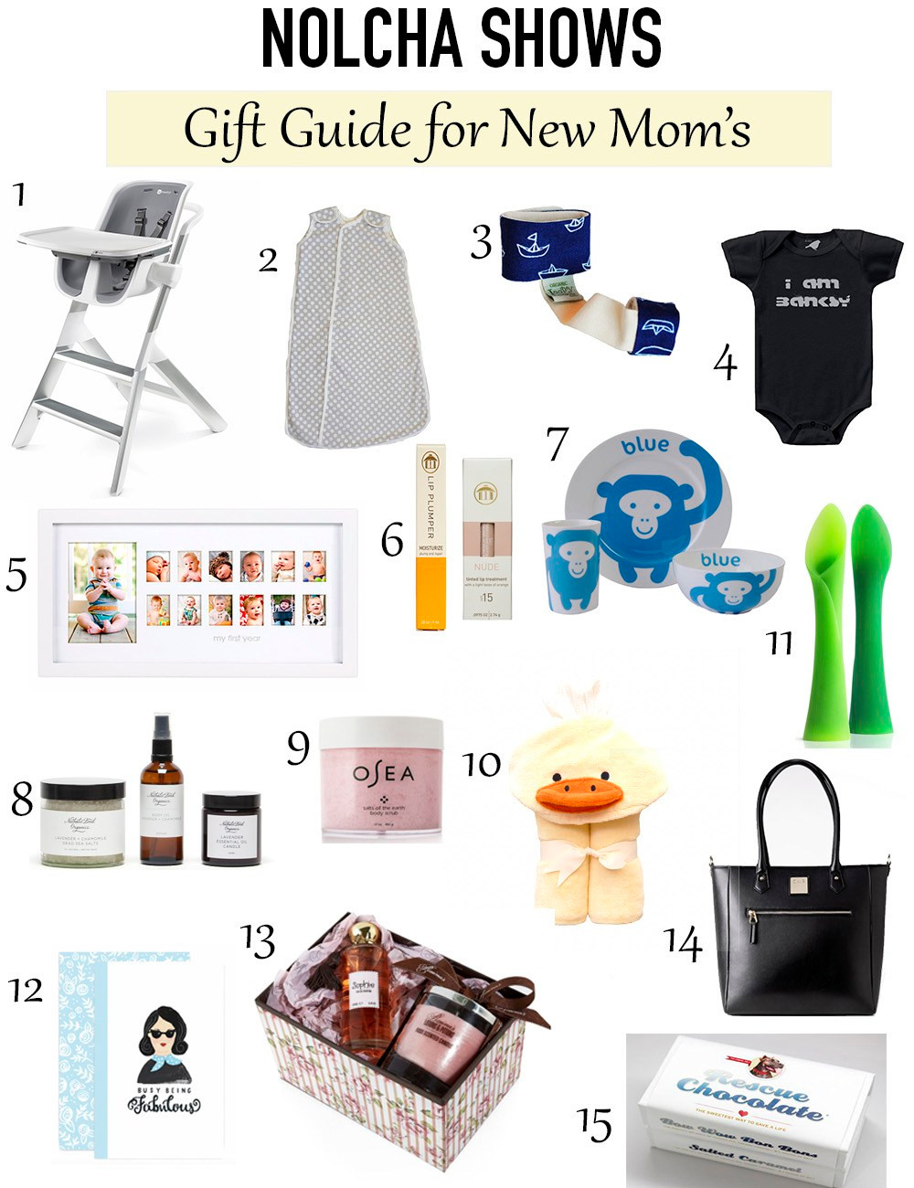 Nolcha Shows Gift Guide