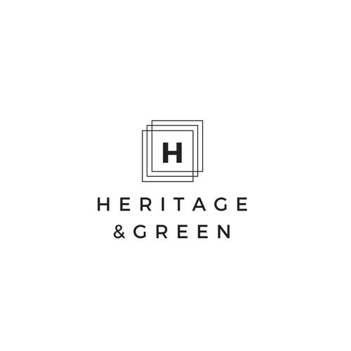 heritage & green logo