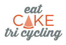 Eat Cake Tri Cycling Logo