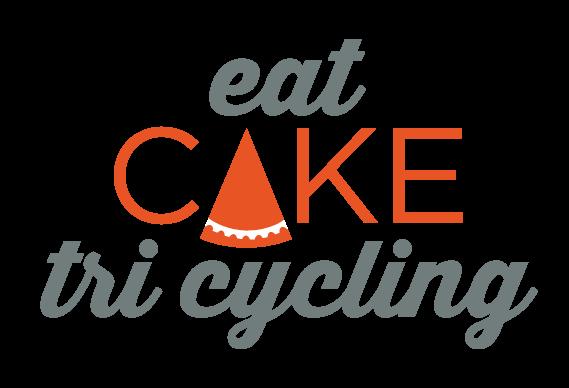 Eat Cake Tri Cycling Logo