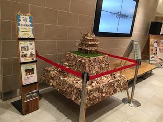 小田原・箱根「木・技・匠」の祭典 小田原城の展示