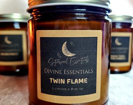 Twin Flame Candle w/ Pendulum