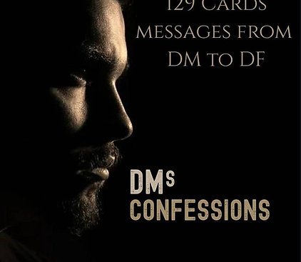 DMs Confessions Oracle Cards