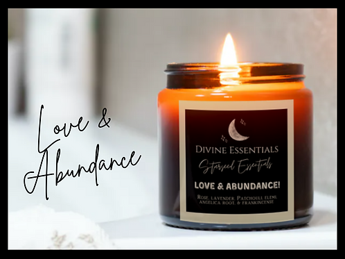 Love & Abundance Intention Candles