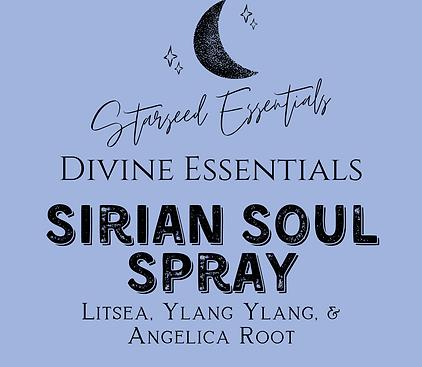 Sirian Soul Spray