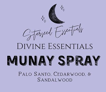 Munay Protection Spray