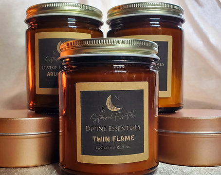 Twin Flame Candles