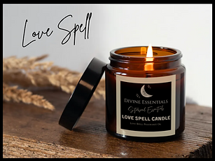 Love Spell Candles