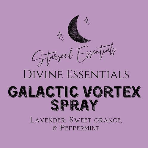 Galactic Vortex Spray