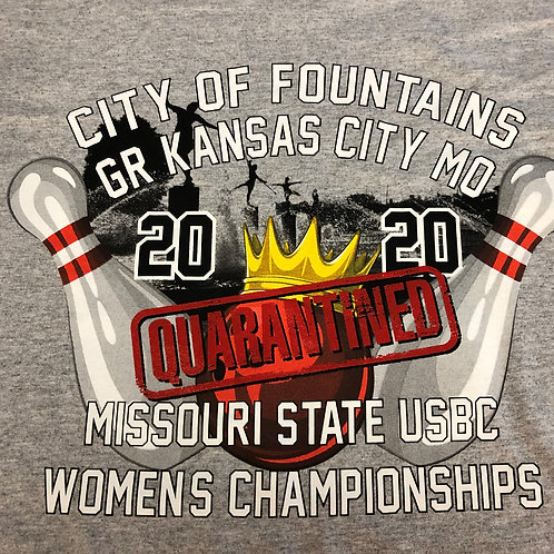 2020 Womens Missouri State Quarentined Tees