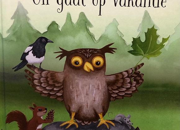 Kinderboek: uil gaat op vakantie.