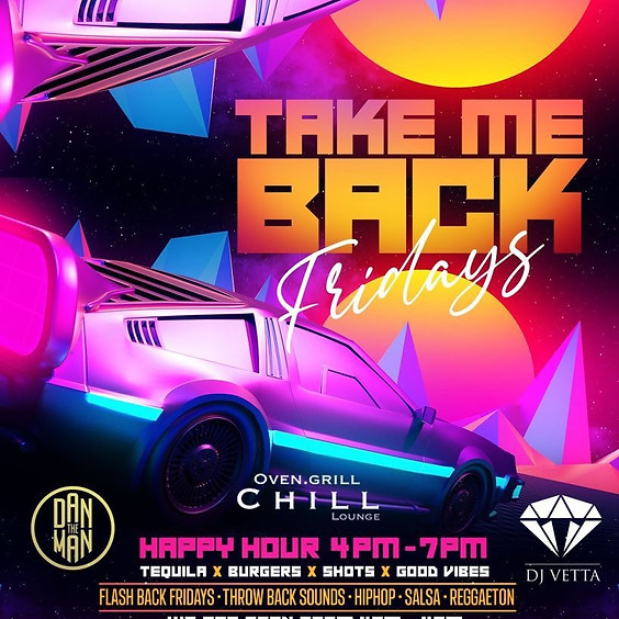 Take me back Fridays at Chill Lounge