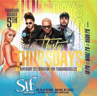 Thursty Thursdays @ Sif Lounge