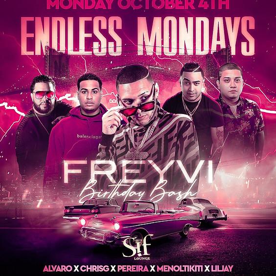Endless Mondays at Sif Lounge