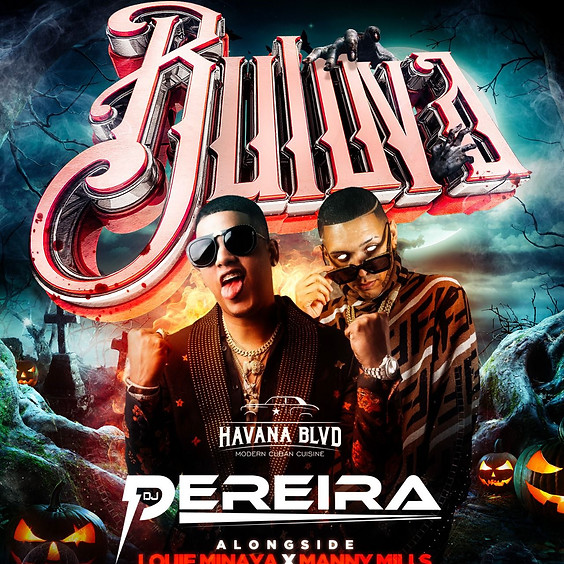 Halloween Night at Havana Blvd with Bulova
