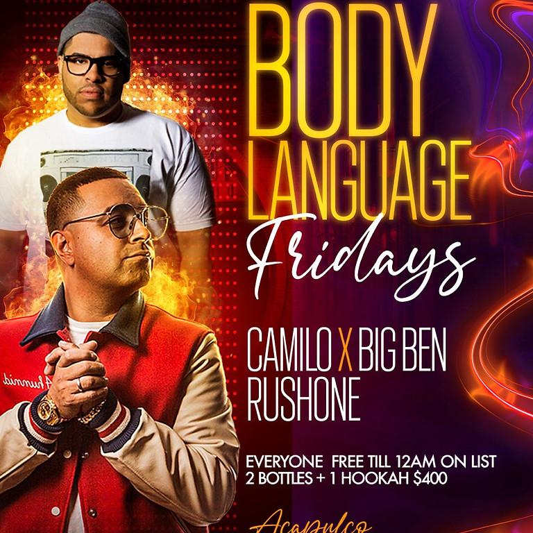 Body Language Friday at Acapulco Astoria