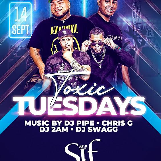Toxic Tuesday at Sif Lounge
