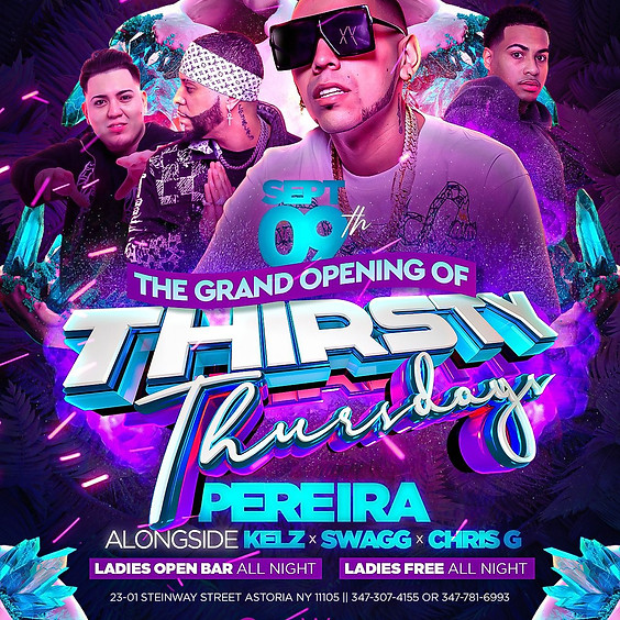 9/9/2021 Grand Opening of Thirsty Thursdays at Gone Wrong Astoria
