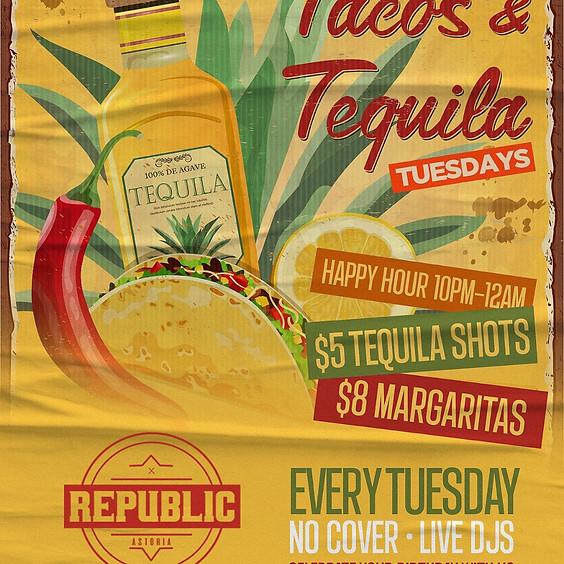 Tacos & Tequila Tuesdays at Republic Astoria