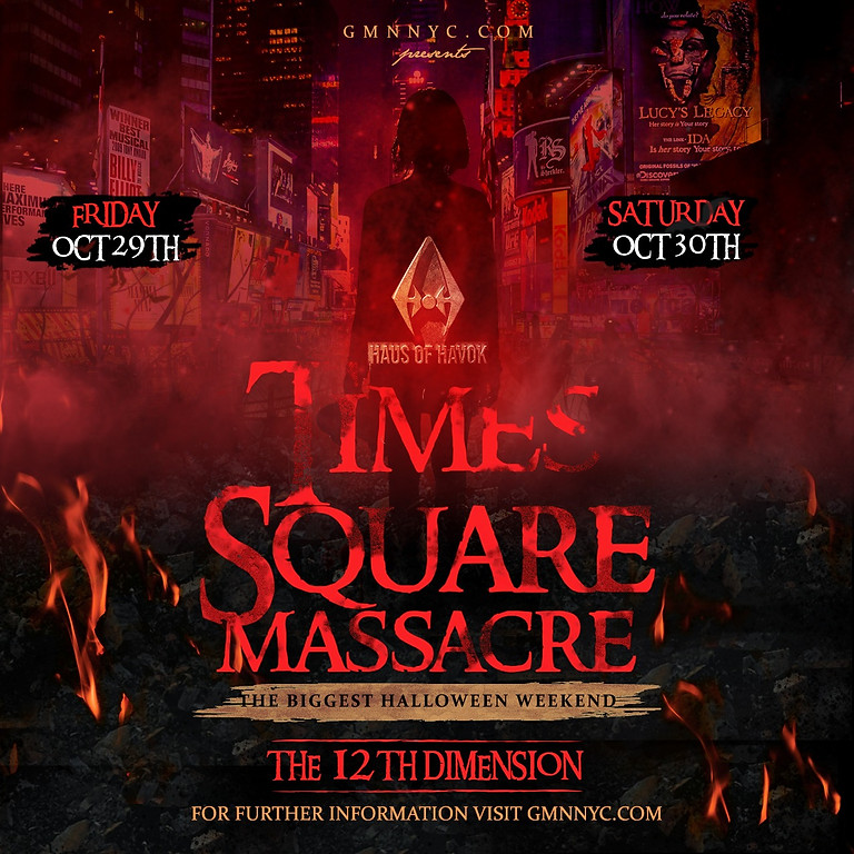 Haus Of Havoc Halloween at Quads Time Square
