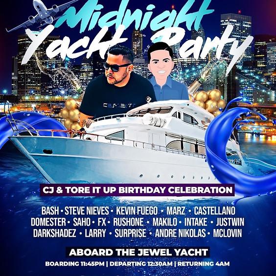 Latin & Hip Hop Midnight Yacht Party