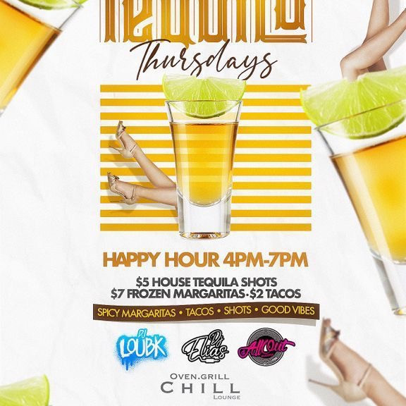 Tequila Thursday at Chill Lounge