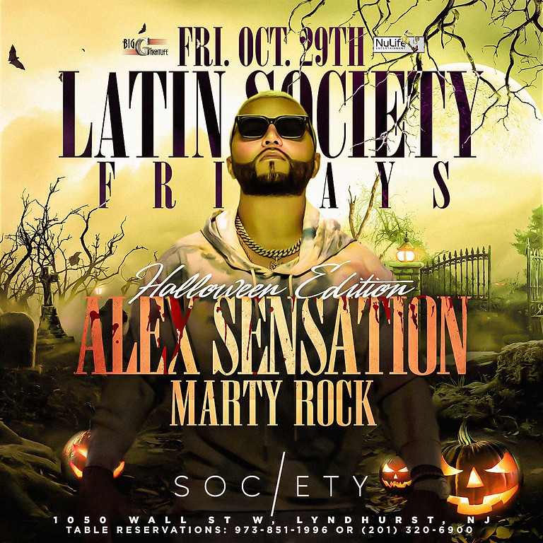 Society Nightclub Halloween Edition Ft. Alex Sensation Live