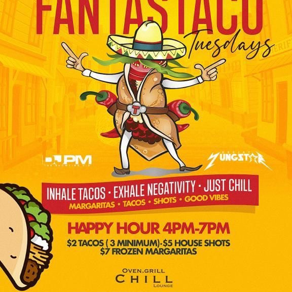 Fantastico Tuesday at Chill Lounge