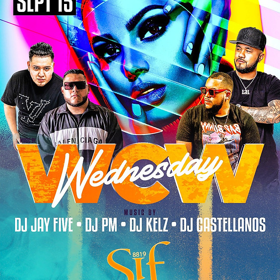 WCW Wednesday at Sif Lounge
