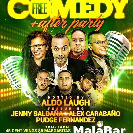 Winning Mondays with Comedy Show at Mala Bar