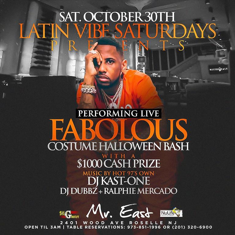 Latin Vibe Saturdays Costume Halloween Bash Fabolous Live
