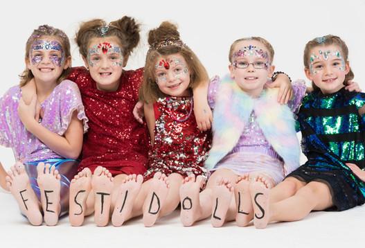Festidolls Kids Sparkle Party Portrait P