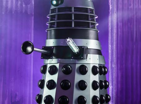 Light Painting a Dalek