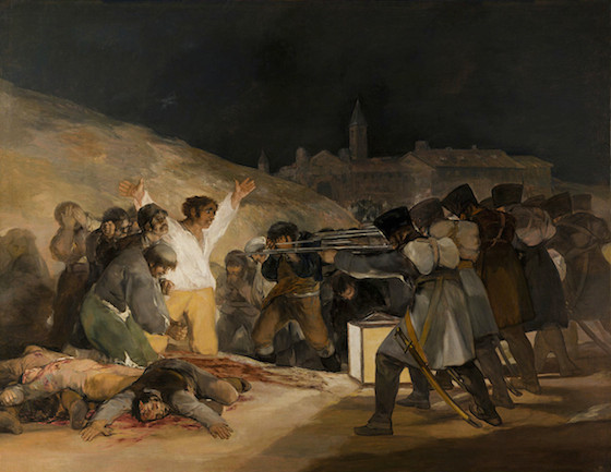 Francisco Goya's Third of May, 1808.  Part of the Qwiz5 series by Qwiz Quizbowl Camp, written to help quiz bowl teams power more tossups!