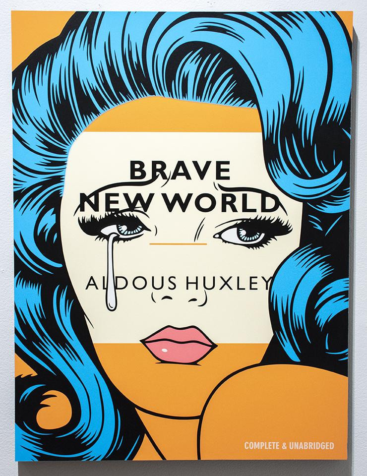 """Aldous Huxley's """"Brave New World"""". Part of the Qwiz5 series by Qwiz Quizbowl Camp, written to help quiz bowl teams power more tossups!"""