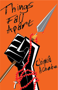 """The cover of """"Things Fall Apart"""" by Chinua Achebe. Part of the Qwiz5 series by Qwiz Quizbowl Camp, written to help quiz bowl teams power more tossups!"""
