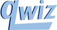 Logo of Qwiz, a quizbowl camp for quiz bowl players looking to improve.