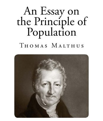 """An image of """"An Essay on the Principle of Population"""", the best known work of English economist Thomas Malthus.  Part of the Qwiz5 series by Qwiz Quizbowl Camp, written to help quiz bowl teams power more tossups!"""