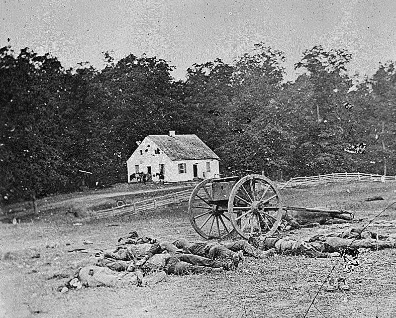 "A scene from ""The Dead of Antietam"". Part of the Qwiz5 series by Qwiz Quizbowl Camp, written to help quiz bowl teams power more tossups!"