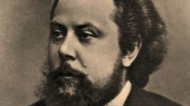 A photograph of Russian composer Modest Mussorgsky. Part of the Qwiz5 series by Qwiz Quizbowl Camp, written to help quiz bowl teams power more tossups!