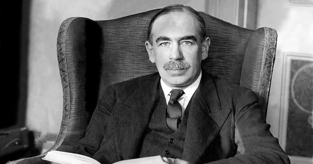 British economist John Maynard Keynes.  Part of the Qwiz5 series by Qwiz Quizbowl Camp, written to help quiz bowl teams power more tossups!