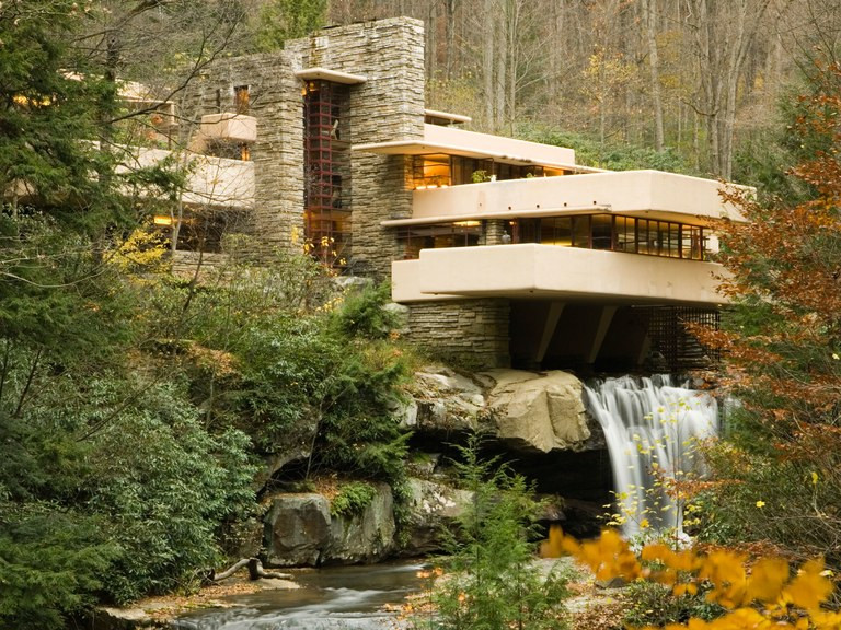 "Frank Lloyd Wright's ""Fallingwater"". Part of the Qwiz5 series by Qwiz Quizbowl Camp, written to help quiz bowl teams power more tossups!"